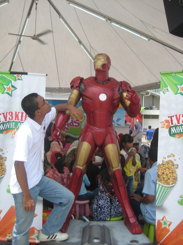I've net the iron man